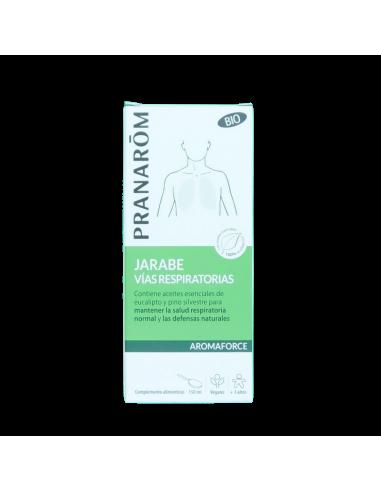 jarabe de respiración Pranarom 150ML - Frente