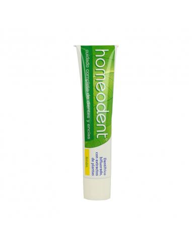 Dentífrico Homeopático Integral sabor limón 75ML