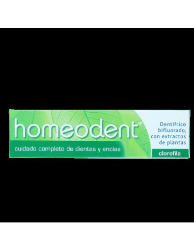 Dentífrico de Homeopatía Homeodent Clorofila 75ML - Frente